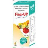 Fine Up Daily Health Tonic Lycopene Lysine Methylcobalamin Multivitamin And Multimineral Syrup With Anti Oxidants 200 Ml Pack