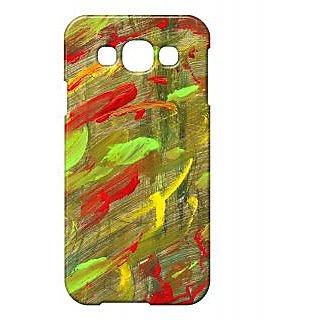 Pickpattern Back Cover for Samsung E5