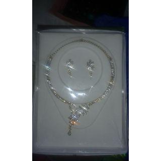 KASHISH AMERICAN DIAMOND NECKLESS SET @ ONLY 299