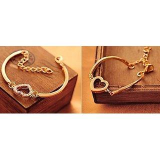 Euro Gold Plated Bracelets For Women