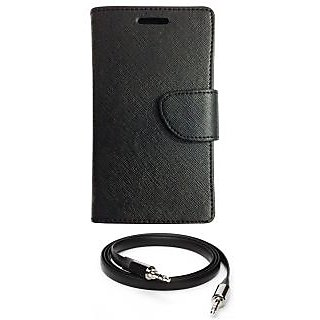 Ape Diary Cover For Lava Iris X5 With Aux Cable APE2