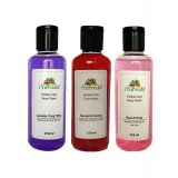 IYurveda-Combo Lavender Ylang Ylang  Bw/Sandal  Honey Fw/ Rose & Honey B Wash