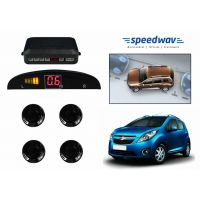 Speedwav Reverse Car Parking Sensor LED Display BLACK - Chevrolet Beat