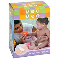 Mee Mee One-Way Nappy Liners (100 Liners)