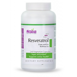 Zenith Nutrition Rersveratrol, Grapeseed Ext & Red Wine Extract - 240 Capsules