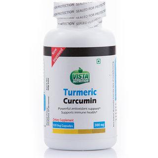 Vista Nutrition Turmeric Curcumin Ext 300mg -- 120 Capsules