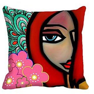 meSleep rose 3D Cushion Cover (20x20)