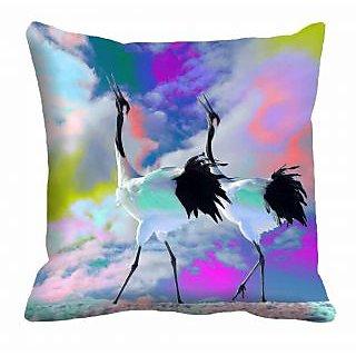 meSleep bird crane 3D Cushion Cover