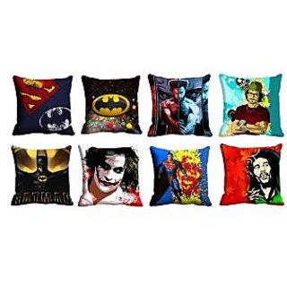 meSleep 8pc Multi 3D Cushion Covers