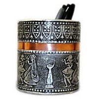 satya oxosised round pen holder