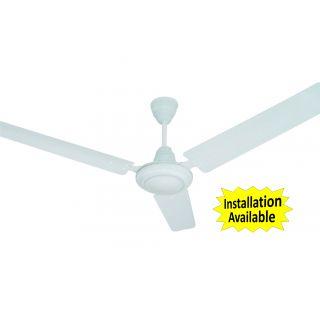 Sameer Gati 3 Blade Ceiling Fan 48 Inch White