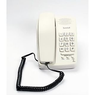 Beetel B15 Corded Landline Phone(Light Grey)