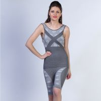 Sky Line Crossed Seamless Full Body Shaper