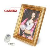 720p Hd 5.mp Pen Photo Frame Hidden Video Camera With 70 Degree View