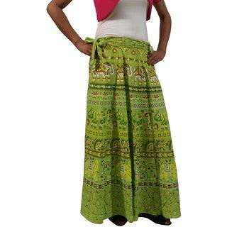 Saffron Craft Wrap Around Skirt