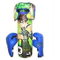Ben 10 Boxing Kids Set - Green & Blue