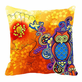 meSleep Owl  3D 20x20 inch Cushion Cover