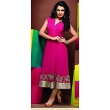 Gorgeous Georgette Gajri Coloured Kurti / Kurta