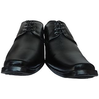 Peter USA Men's Black Lace Up Shoes