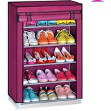Adjustable 5 Layer Shoe Rack With Cover