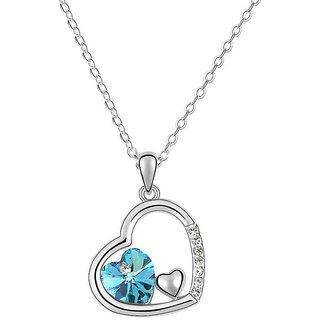 Valentine Hearts Pendant Necklace