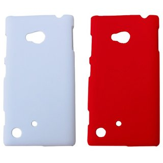 Winsome Deal Mobile Back Cover For  Nokia  Lumia 720 NKLUM720CWHIRED available at ShopClues for Rs.175