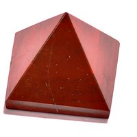 Red Jasper Set Of 5 Pyramids