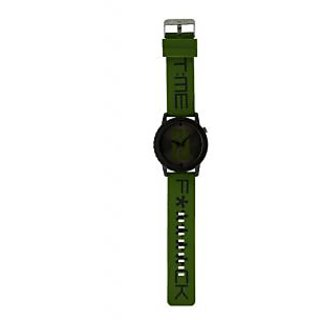 Fastrack  Unisex Green Watch- 9912PP10