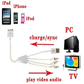 Callmate AV Cable For Apple Devices
