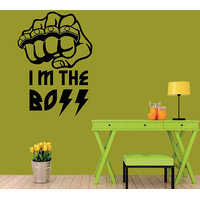 I M The Boss Wall Stickers