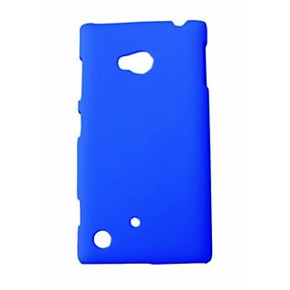 Winsome Deal Mobile Back Cover For Nokia Lumia 720 NKLUM720CBLU available at ShopClues for Rs.115