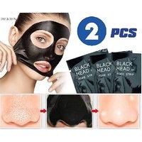 2 PCS PILATEN Facial Minerals Nose Blackhead Remover Mask Deep Cleansing Strip