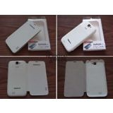 Karbonn S 5- Leather Diary Folio Flip Cover Case Book Cover for Karbonn S 5 Titanium White