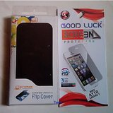 Micromax A110 -- Canvas 2 Battery Back Flip Cover Carry Case + Free Screen Guard