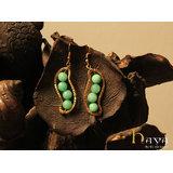 Green Bean Earrings