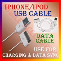 """Latest IPHONE IPOD 3G/3GS/4G/4S USB Datacable Wire """"For Charging & Data Sync"""""""