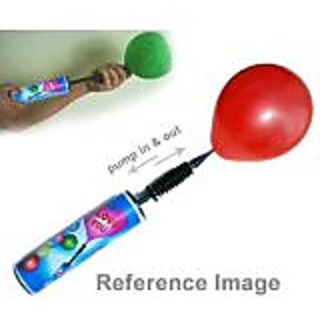 Balloon Inflator Manual with Free Ballons(100 pcs.)