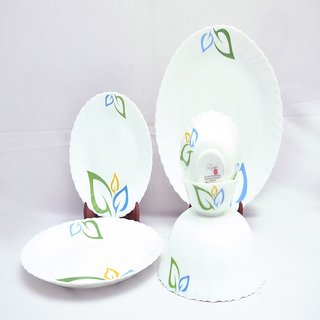 Larah 7 Pcs Dinner Set Fluted Annona