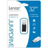 Lexar Jumpdrive Firefly 32 Gb Usb 2.0 Flash Drive Ljdff32gasbna Black
