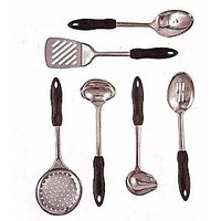 Home & Office Travellor Stainless Steel 6 Piece Implement Set