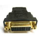 Gold Plated 29pin(24+5) DVI-I Female - HDMI Male Adapter Converter Changer
