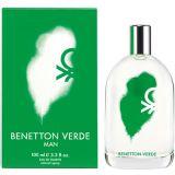 Benetton Verde Eau De Toilette - 100 Ml (For Men)
