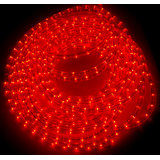 20 Mtr Rope Light For Decoration 20 Meter Red