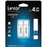 Lexar Jumpdrive Ve 4gb Usb Jump Drive 2pk Multi Pack