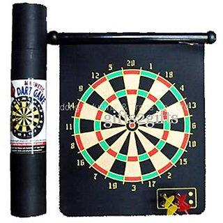 Magnetic Dart Board Game Kids Adul Racket Bar Pub Games