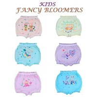 Kid's Cotton Fancy Multicolour Bloomers (Set of 6)