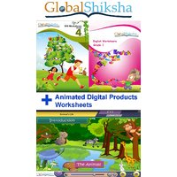 Combo Offer For Class 1 - Maths & Environmental Science (EVS) (Animated Theory & Worksheets)