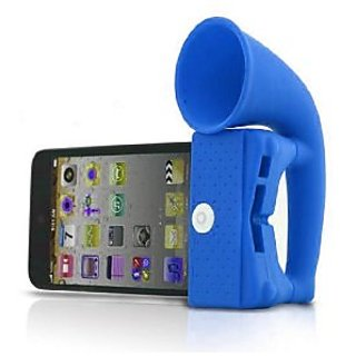 GeekGoodies Silicon Horn Stand Speaker for iPhone