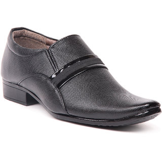 Foot n Style Black Formal Shoes fs 324