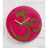 Zeeshaan The Aum Wall Clock